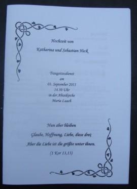 Kirche Hochzeit Ablauf